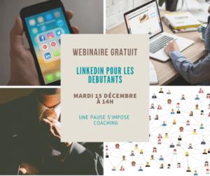 Webinaire LinkedIn pour les débutants